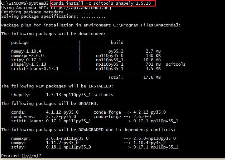 Installing Python + GIS — GeoPython - AutoGIS 1 documentation