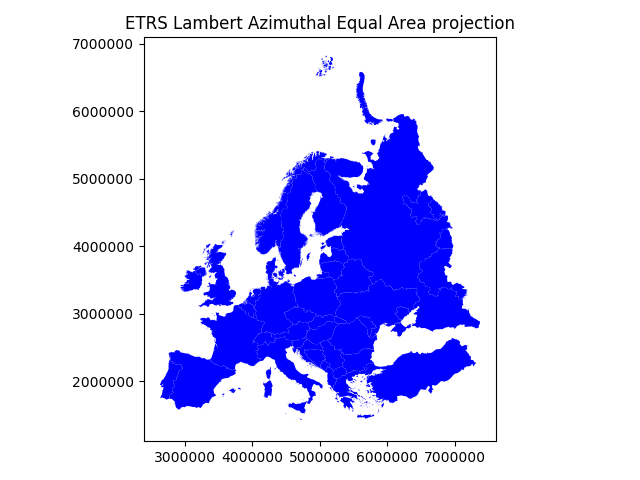 Map projections — Geo-Python - AutoGIS documentation