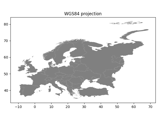 Map projections — Geo-Python - AutoGIS documentation