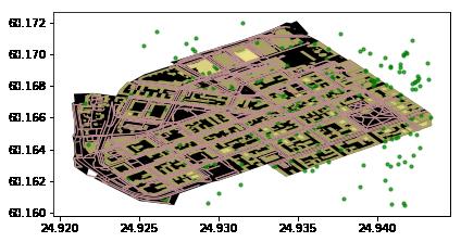 Retrieving OpenStreetMap data — Intro to Python GIS CSC