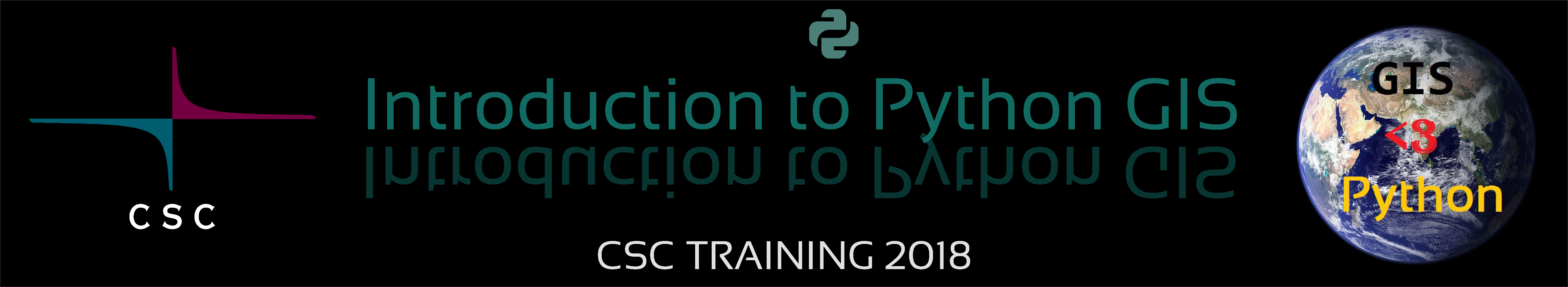 Welcome To Introduction To Python Gis Course 2018 Intro To